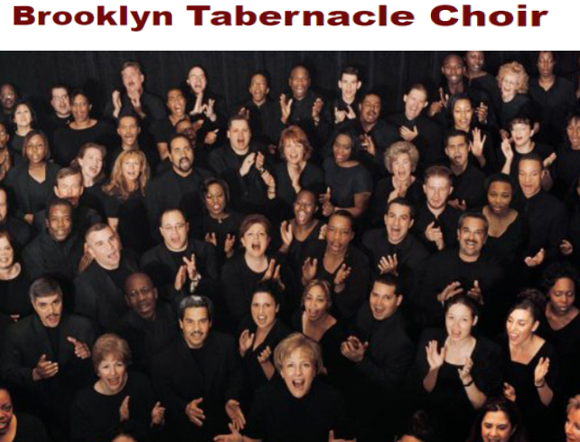 Grammy Awards Winning 285-Voice Choir Of Brooklyn TABERNACLE