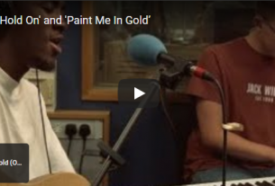JERUB Performs 'Hold On' and 'Paint Me In Gold'Live On BBC Radio.
