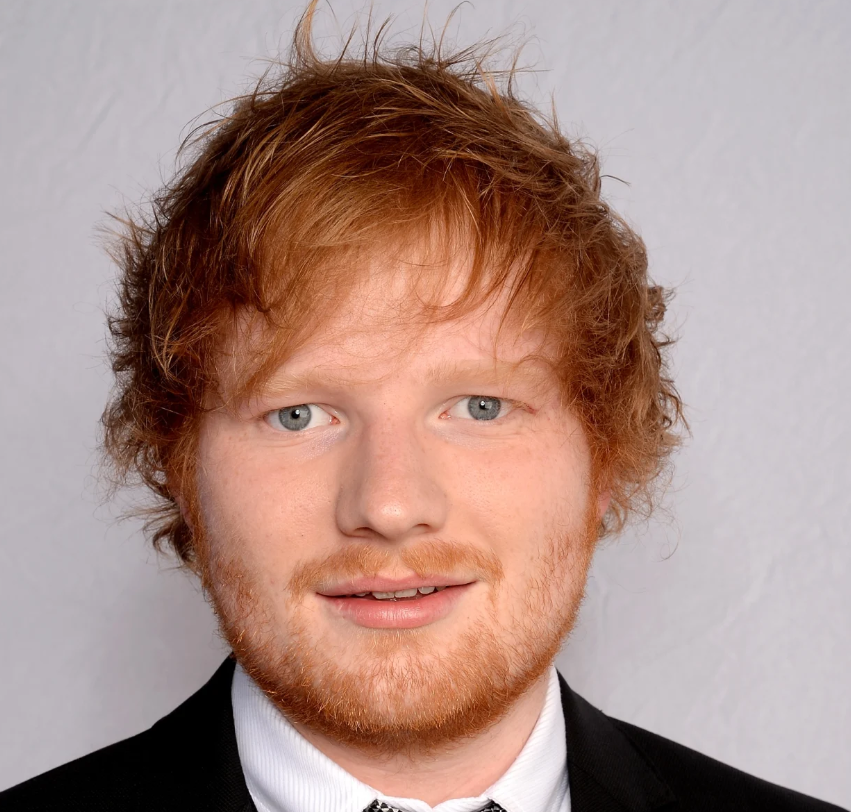 "The Grammy-winning singer/songwriter & Performer""Ed Sheeran"""