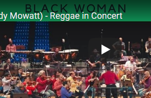Judy Mowatt – Black Woman-  Luana Jones Jazz Symphony Brazil and lions of Israel