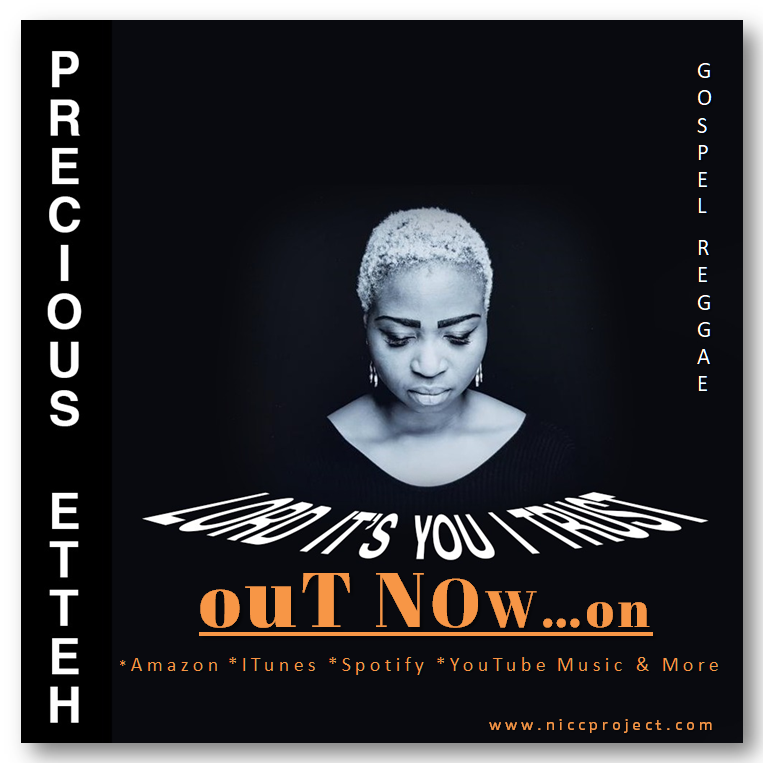 "NOW STREAMING…"" LORD IT'S YOU I TRUST "" By Precious Etteh"
